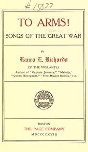 Cover of: To arms!: Songs of the great war