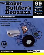 Cover of: Robot Builder's Bonanza (Tab Electronics)