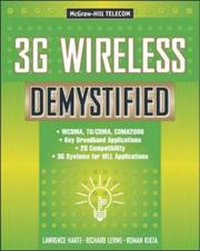 Cover of: 3G wireless demystified