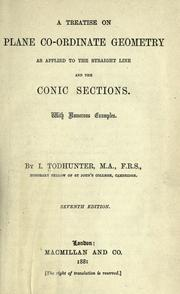 Cover of: A treatise on plane co-ordinate geometry