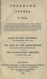 Cover of: Tales of the Alhambra by Washington Irving