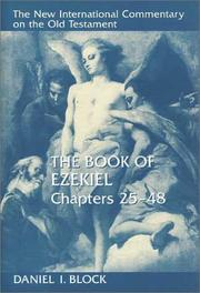 Cover of: The Book of Ezekiel