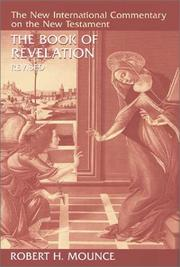 Cover of: Book of Revelation | Robert H. Mounce
