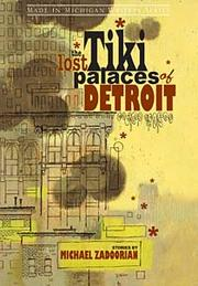 Cover of: The lost tiki palaces of Detroit: stories