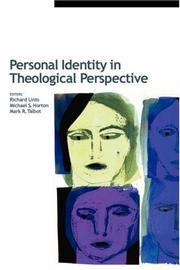Cover of: Personal identity in theological perspective |