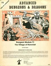 Cover of: The Village of Hommlet (Advanced Dungeons & Dragons Module T1)