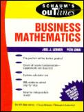 Cover of: Schaum's outline of theory and problems of business mathematics