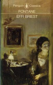 Cover of: Effi Briest | Theodor Fontane