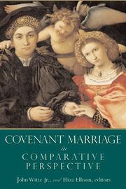 Cover of: Covenant marriage in comparative perspective