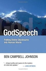 Cover of: GodSpeech: Putting Divine Disclosures into Human Words