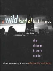 Cover of: A Wild Kind of Boldness