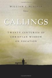 Cover of: Callings | William C. Placher