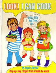 Cover of: Look! I can cook. | Angela Burdick