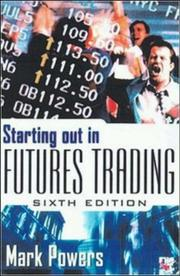Cover of: Starting Out in Futures Trading