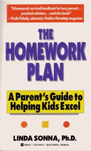 Cover of: The homework plan | Linda Sonna