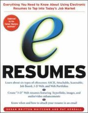 e-Resumes by Susan Britton Whitcomb