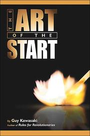 Cover of: The Art of the Start
