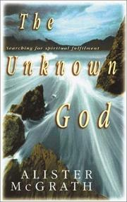 Cover of: The Unknown God