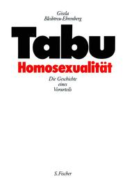 Cover of: Tabu Homosexualität