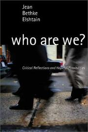 Cover of: Who are we? : critical reflections and hopeful possibilities