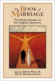 Cover of: The Book of Marriage |