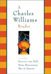 Cover of: A Charles Williams Reader: 3 Novels