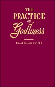 Cover of: The Practice of Godliness