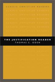 Cover of: The Justification Reader