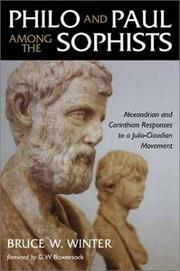 Cover of: Philo and Paul among the Sophists