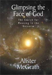 Cover of: Glimpsing the face of God