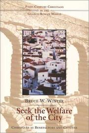 Cover of: Seek the Welfare of the City