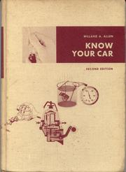 Cover of: Know your car