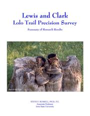 Cover of: Lewis and Clark | Steve F. Russell