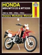 Cover of: Honda MBX/MTX125 & MTX200 owners workshop manual