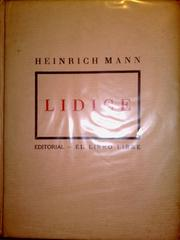Cover of: Lidice