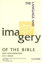 Cover of: The language and imagery of the Bible