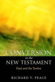 Cover of: Conversion in the New Testament