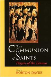 Cover of: Communion of Saints