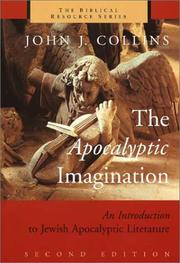 The apocalyptic imagination by John Joseph Collins