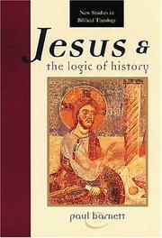 Cover of: Jesus and the logic of history