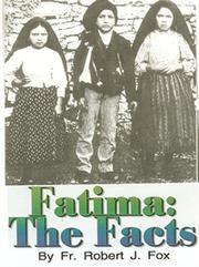 Cover of: Fatima: The Facts
