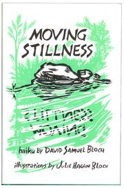 Cover of: Moving stillness