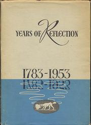 Cover of: Years of Reflection 1783-1953 |