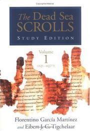 Cover of: The Dead Sea Scrolls Study Edition |