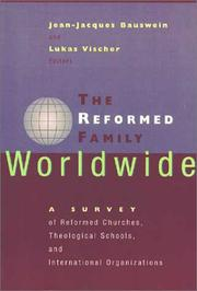 Cover of: The Reformed Family Worldwide |