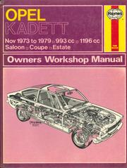 opel kadett owner s workshop manual december 1979 edition open rh openlibrary org 1962 Opel Kadett Opel Coupe