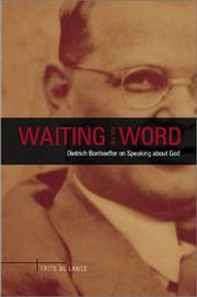 Cover of: Waiting for the Word