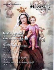 Cover of: The Brown Scapular Immaculate Heart Messenger Catholic Magazine October-December 2008