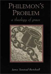 Cover of: Philemon's problem