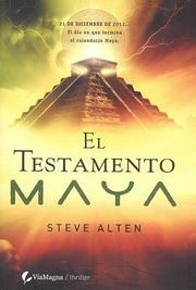 Cover of: El Testamento Maya/ the Maya Testament